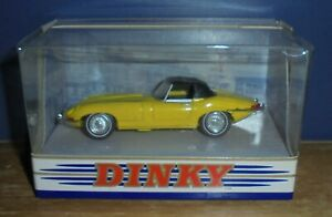 Matchbox The Dinky Collection DY-1B Jaguar E Type Mk 1 1/2 Yellow