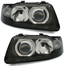 Facelift Scheinwerfer Set für AUDI A3 8L in Schwarz links + rechts H1 H7 Halogen