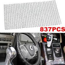 837pcs 3mm DIY Crystal Rhinestone Car Styling Sticker Decor Decal Accessories