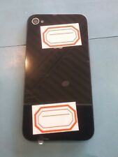 iPhone 4 (A1349) Black Glass Back Cover with Frame, Verizon/Sprint only