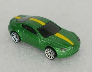 2021 Hot Wheels HW Exotics Aston Martin V8 Vantage Green 10-SP 1/64 Loose