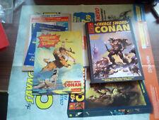 """THE SAVAGE SWORDD OF CONAN COLLECTION 1 + LOCANDINA SECONTA E TERZA USCITA """"E"""""""