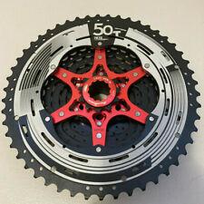 SunRace CS-MZ90 12 Speed Mountain Bike Cassette 11-50T Black Red Silver Shimano