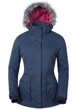NEW Mountain Warehouse Womens Ski Jacket 12 Braddock RRP $179.99 Navy Coat Snow