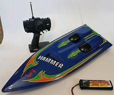 Aquacraft Hammer Purple Hull Remote Control Speedboat