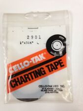 """A pack 11 rolls New CELLO TAK® Charting Tape# 2901 1/4"""" x 324"""""""