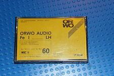 ORWO AUDIO FE I LH  60    BLANK CASSETTE TAPE (1) (USED)
