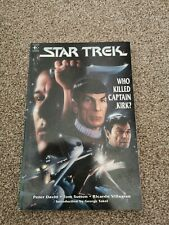 Star Trek: Who Killed Captain Kirk? Graphic Novel 1993