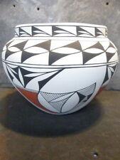 "Acoma Pueblo R. Chino 7"" Tall Pot Bowl Olla"