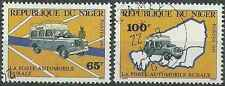 Timbres Voitures Niger 614/5 o lot 11776