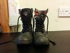 Rocket Dog Black Short Boots Uk 5