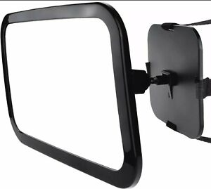 Zacro Baby Kids Shatter Proof Acrylic Clear View Car Safety Mirror Lightweight