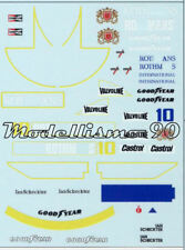 Decal sheet 1/43 March 761B-771 F.1 Ford #10 Ian Scheckter End Season 1977 - NEW