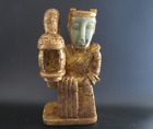 Antique Chinese Han Dynasty Jade Hand carved Human Statue 2918g