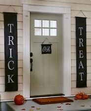 Outdoor Halloween Decorations Door Entry Decor Sign Wall Hanging Cute Party New
