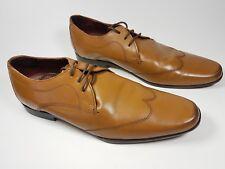 Burton tan leather wingtip shoes uk 7 eu 41