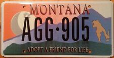 PET ADOPTION ANIMAL FRIENDLY license plate Dog Cat Shelter Lover Puppy K9 Kitten