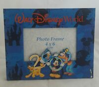 Disney World 2000 Picture Frame Mickey Mouse Goofy Donald Duck Pluto 4 x 6