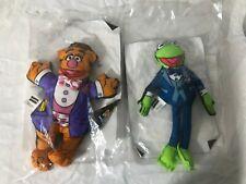1998 Blockbuster Video Promo Muppet Stars Fozzy the Bear & Kermit the Frog Plush