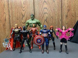 "Marvel Legends Loose Lot MCU Universe Loose Lot 3.75"" Scarlet Witch Hulk Thor"