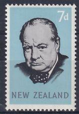 NEW ZEALAND 24 MAY 1965 WINSTON CHURCHILL COMMEMORATIVE STAMP MH