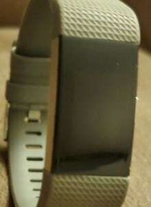 Fitbit Charge 2 HR Heart Rate Monitor Fitness Wristband Tracker Gray