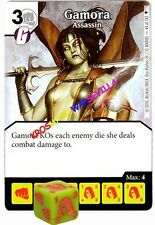 044 GAMORA Assassin -Common- AGE OF ULTRON Marvel Dice Masters