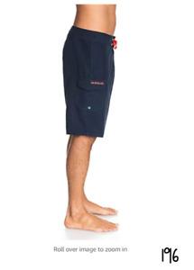 Quiksilver Men's Everyday 21 Board Short Swim Trunk Bathing Suit Navy Blazer 36