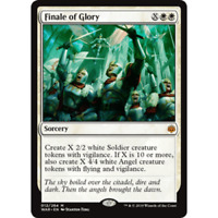 1x FINALE OF GLORY - angel - War of the SPark - MTG - NM - Magic the Gathering