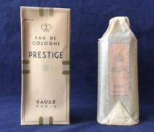 Vintage Rare 1940's Eau De Cologne Prestige By Sauze Paris New in Box