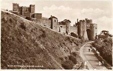 DOVER CASTLE Main Entrance - Kent - 1953 Original Real Photo Postcard (BBB)