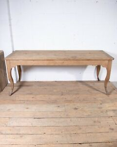 Antique 19th century French Oak Dining Kitchen Table