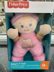 Fisher Price  Babys First Rattle Doll Machine Wadhable