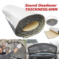 32sqft 6mm Sound Deadener Car Van Heat Shield Insulation Deadening Material Mat