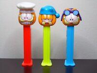 Garfield Pez Dispensers-3 Different-Slovenia 4.9 Hungary 5.9