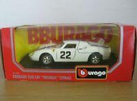 "Bburago Ferrari 250 LM ''Monza"" (1966) Diecast 1:24 Scale Model"