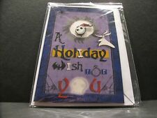 "Sold-Out Disney ""A Holiday W ish For You"" Jack Skellington Greeting Card & Pin"