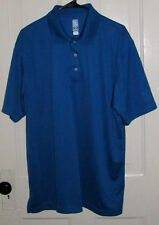 PGA Airflux  Blue Size XL  S/S MensGolf Polo Shirt Top Official Licensed Apparel