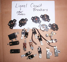 5 Lionel Circuit Breakers Zw 275 Kw 190 Lw 125 From Working Lionel Transformers
