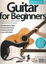GUITAR for Beginners UK Learn to Play DIY Chords Notation Tab Audio FREE CD $30