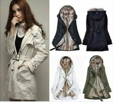 2018 Lady Women Thicken Warm Winter Coat Hood Parka Overcoat Long Jacket Outwear