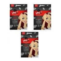 Yes to Charcoal Dry Shampoo Detoxifying Wpes 3 Packets Single Count Each A195