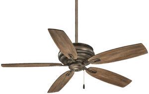 """Minka Aire Timeless 54"""" Ceiling Fan - Heirloom Bronze"""