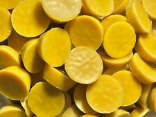 1 LB OF 100% PURE YELLOW PREMIUM AMERICAN BEESWAX FILTERED