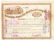 Iowa Falls and Sioux City Railroad Companay 1886