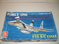 McDonnell Douglas F-15 A/C Eagle USAF Force One AMT 1/72 Scale Model Kit NEW