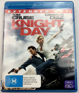 Knight and Day - Tom Cruise, Cameron Diaz, Blu-ray, Region B, with Tracking, M