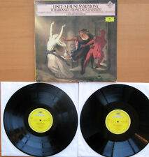 DG 415 009-1 Liszt Faust Symphony Tchaikovskiy Francesca Rimini Bernstein 2LP NM