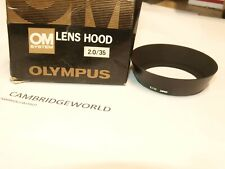 Olympus METAL SCREW in Lens Hood Shade NEW for OM Zuiko  2.0/35mm LENS in BOX