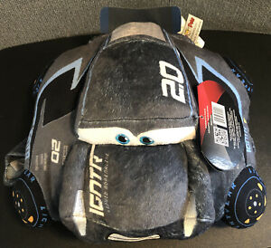 "Pillow Pets Disney Pixar Cars 3, Jackson Storm, 16"" Stuffed Plush Toy"
